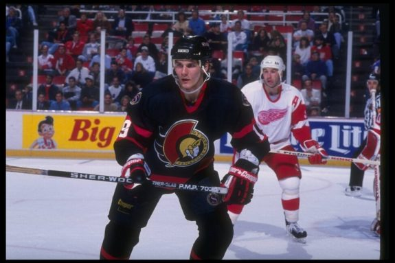 Alexei Yashin Ottawa Senators Rookie