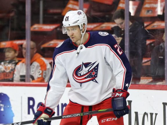 Zac Dalpe Blue Jackets