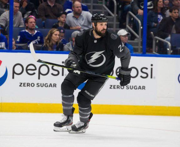 Zach Bogosian Tampa Bay Lightning