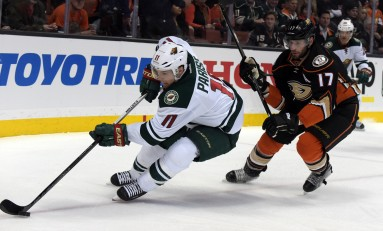 Where Does Zach Parise Fit in the Wild Lineup?