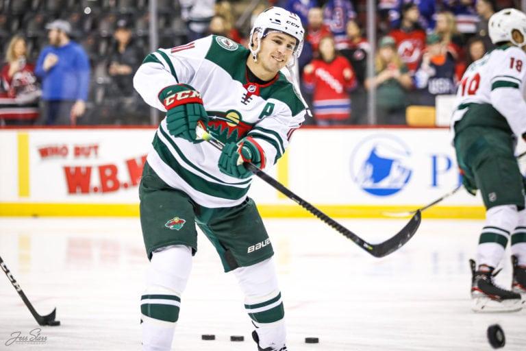 Zach Parise Minnesota Wild