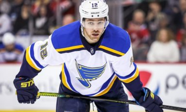 Blues' Zach Sanford: From Boston to St. Louis