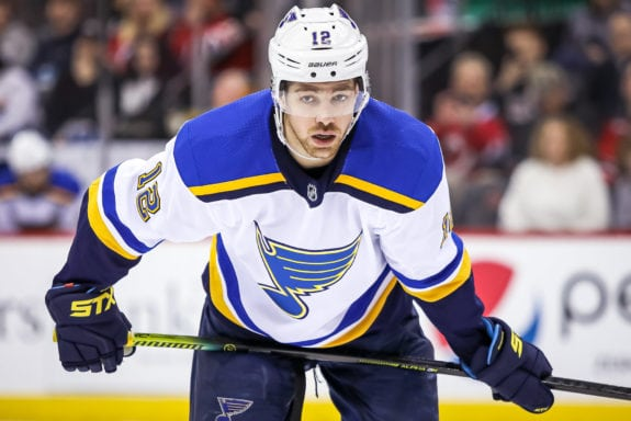 Zach Sanford St. Louis Blues