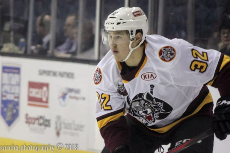 Zach Whitecloud Chicago Wolves