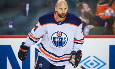 Oilers' Kassian Suspended Seven Games for Kicking Lightning's Cernak