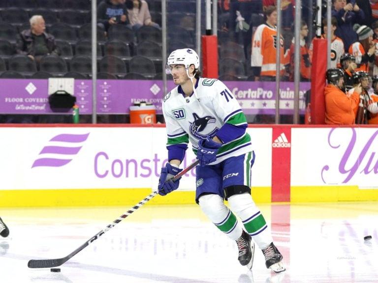 Zack MacEwen Vancouver Canucks