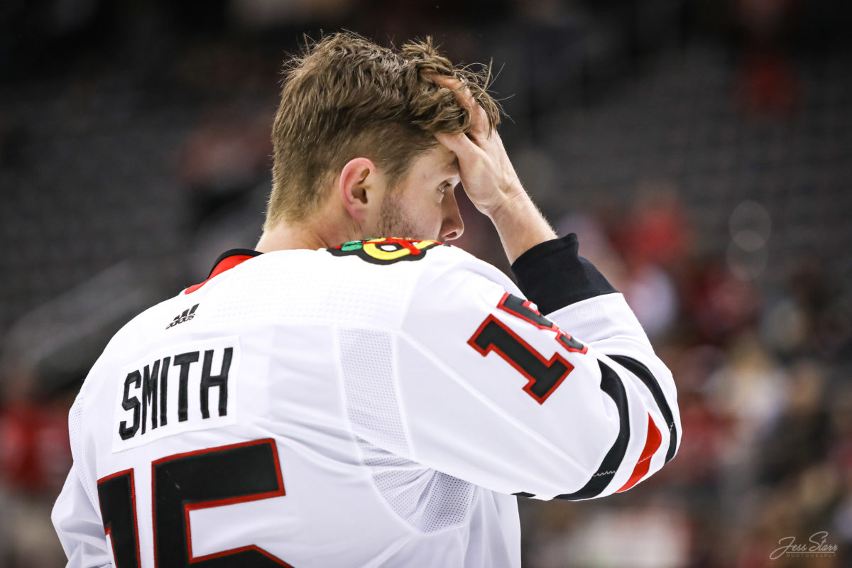 Zack Smith Chicago Blackhawks