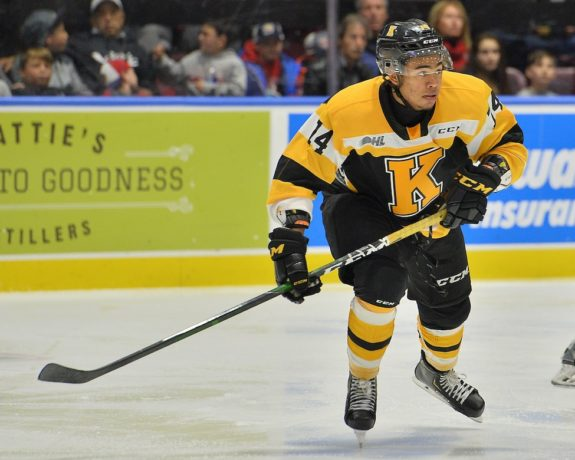 Zayde Wisdom Kingston Frontenacs