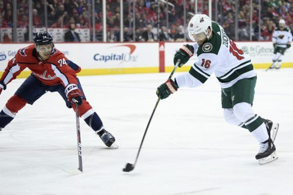 Minnesota Wild Jason Zucker Washington Capitals John Carlson