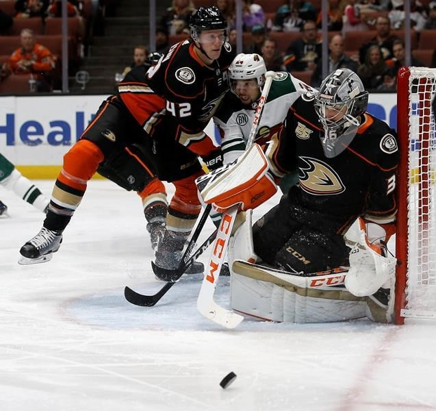 Wild Beat The Ducks For 4th Win In 5 Games