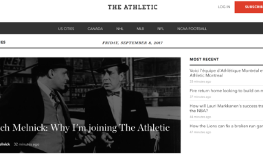 What Does 'The Athletic' Mean for the Future of Hockey Writing?