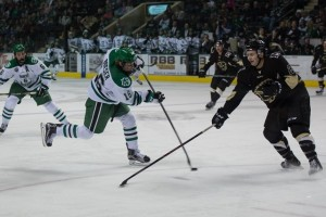 UND forward Brock Boeser (Conor Knuteson/UND Athletics)