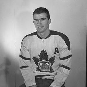 Brian Conacher, during his Jr. A days with Marlboros.