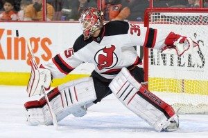 Cory Schneider of the New Jersey Devils.