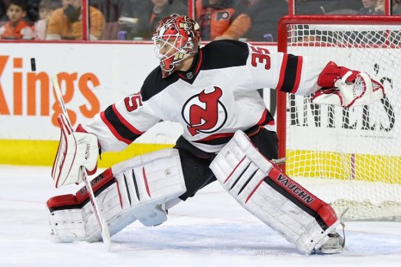 Cory Schneider still leads the team despite a rough patch. (Amy Irvin / The Hockey Writers)
