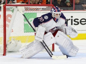 Curtis McElhinney will start Saturday night against the Rangers. (Amy Irvin / The Hockey Writers)