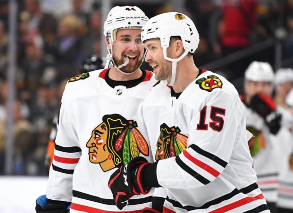 Chicago Blackhawks Calvin de Haan Zack Smith