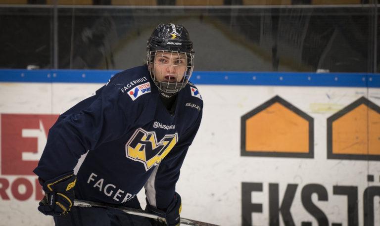 Erik Brannstrom, Vegas Golden Knights, NHL Draft