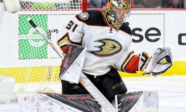 Unfortunate Injury Could Answer Ducks' Goalie Question