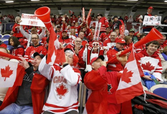 (THW file photo) Canada will be backed by boisterous crowds and enters the world-junior tournament as the favourite to win according to our predictions — earning three votes for gold, edging Team USA and Sweden with two each.