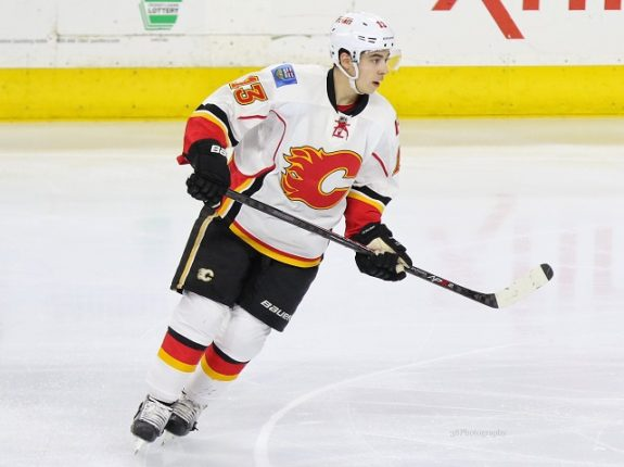 A deal between Gaudreau and the Calgary Flames may be coming soon. (Amy Irvin / The Hockey Writers)