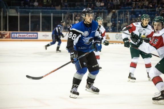 NHL Draft Prospect Maxim Cajkovic