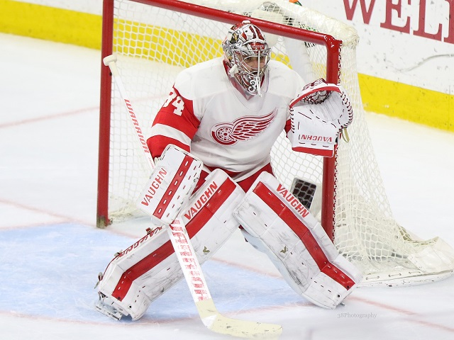 Petr Mrazek to arbitration, NHL, Detroit Red Wings