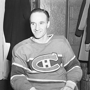 Billy Reay during his heyday with Canadiens.
