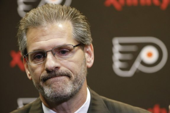 Philadelphia Flyers general manager Ron Hextall