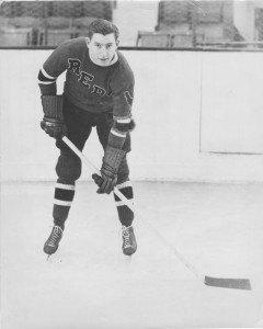 Milt Schmidt during his brief stay with Providence of the IAHL.