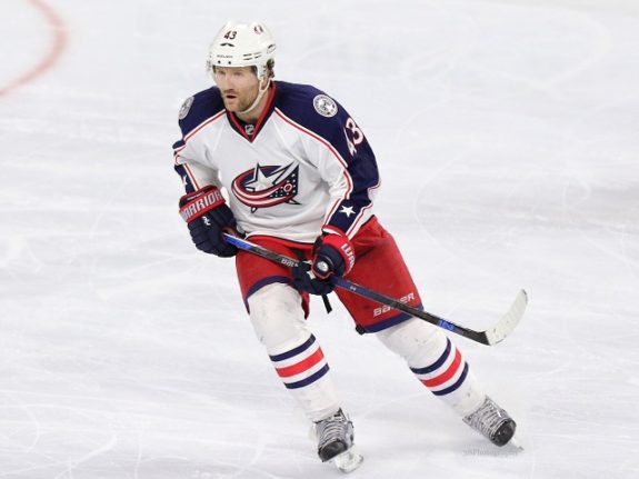 I do expect Scott Hartnell will start the season with the Blue Jackets. (Amy Irvin / The Hockey Writers)