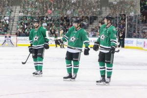 The Dallas Stars are dealing with injuries or their after-effects for many key forwards. (Annie Devine/The Hockey Writers)