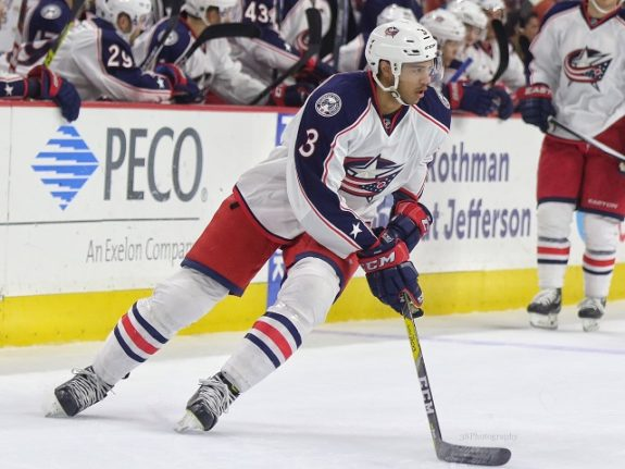 Seth Jones will be counted on to play top minutes for Team USA.