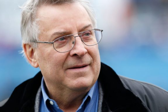 Terry Pegula, owner of the Buffalo Sabres