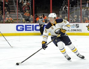 Jack Eichel has not made his season debut because of an injury. (Eric Hartline-USA TODAY Sports)
