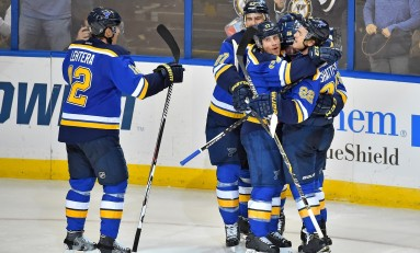 Blues Cashing in at Home