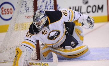 Lehner Injury Brings Intrigue to the Sabres Net