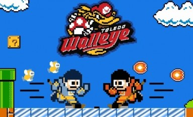 Toledo Walleye's 8-Bit Jerseys Are Incredible
