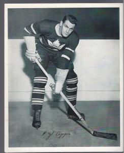 Former Maple Leafs star Syl Apps