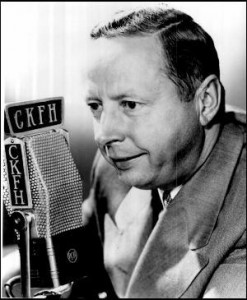 Foster Hewitt is involved in Vancouver's NHL application.