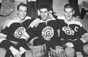 Danny O'Shea, Ian Young and Bobby Orr pushed the Baby Habs to the sidelines.