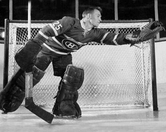 Charlie Hodge Canadiens