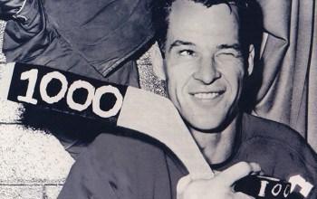 'Mr. Hockey' Gordie Howe