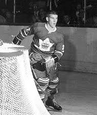Bobby Orr in the unfamiliar garb of the Toronto Marlboros.
