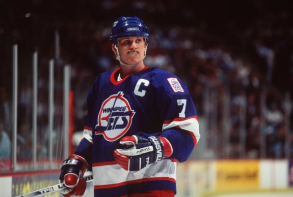 Keith Tkachuk Winnipeg Jets