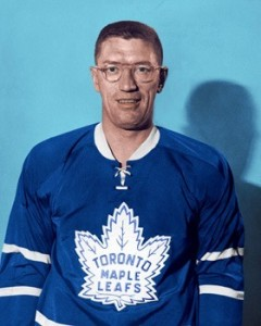 Al Arbour was surprised at his call-up by the Leafs.