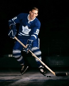Larry Hillman back with Leafs from Rochester.