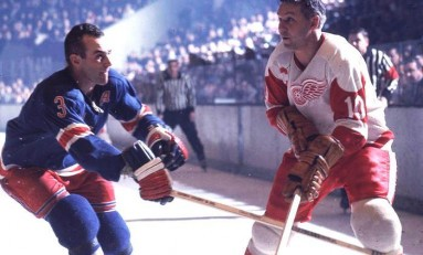 50 Years Ago in Hockey: Wings Rock Rangers For Fifth Straight Win