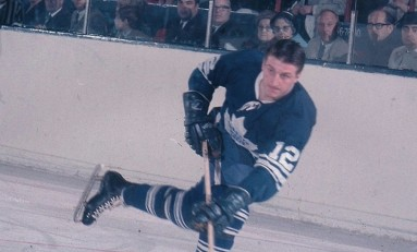 50 Years Ago in Hockey: Leafs Hammer Rangers; Maniago Hurt