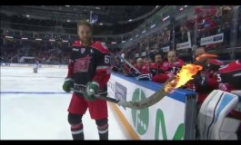 Video: Linus Omark Fires Up His Stick In KHL All-Star Game
